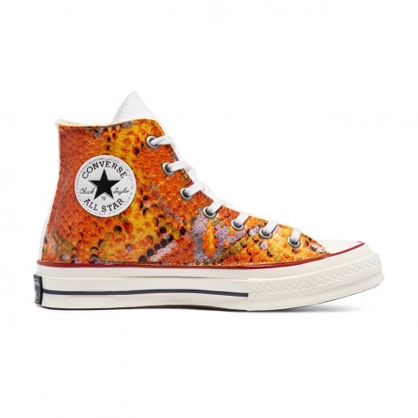 SNAKE CHUCK 70 HIGH TOP CONVERSE SNEAKERS 171014C