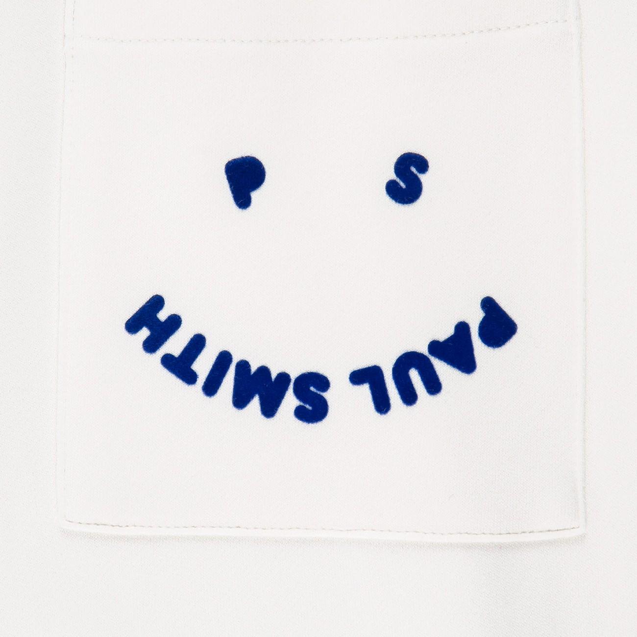 WHITE SPORT TROUSERS 'HAPPY' PS PAUL SMITH M2R-647U-F21169-02