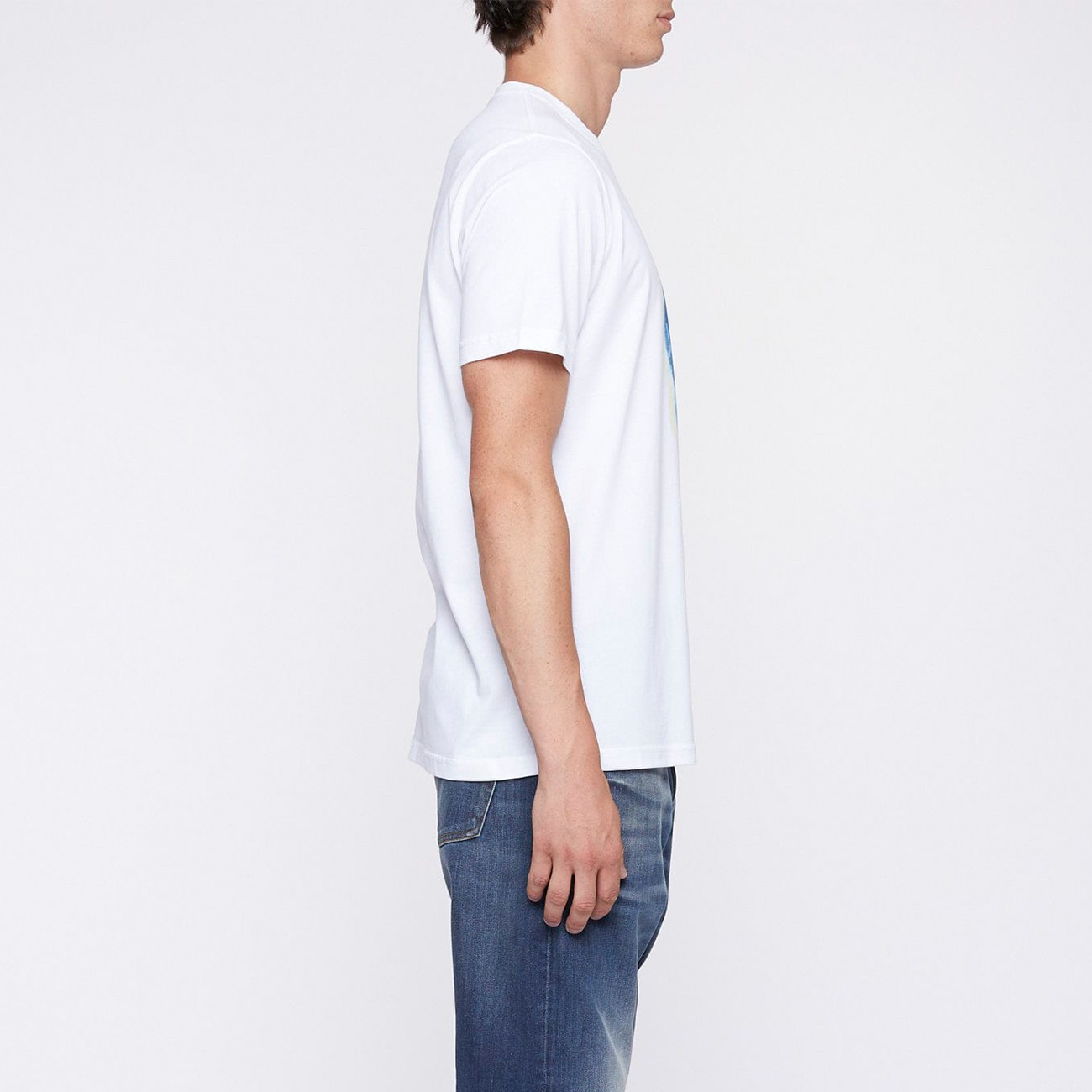 WHITE SKULL T-SHIRT IN X-RAYS PS PAUL SMITH M2R-011R-FP2603-01