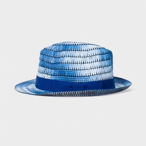 TRILBY BLUE SPICE DYE PAUL SMITH HAT M1A-742F-FH629-47