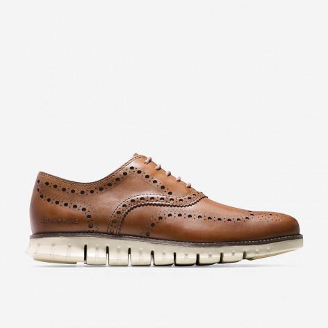 BROWN SHOES ZEROGRAND OXFORD COLE HAAN C14493