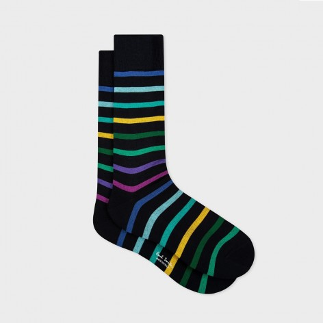 CALCETINES A RAYAS PERCY STRIPE PAUL SMITH  M1A-800E-EF325-47-0