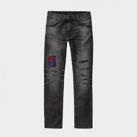 NUDIE JEANS THIN FINN SHADES OF BLACK JEANS 113454
