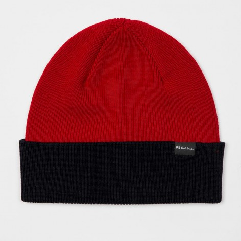 TWO COLOR POLAR HAT PAUL SMITH  M2A-510F-AH602-25-0