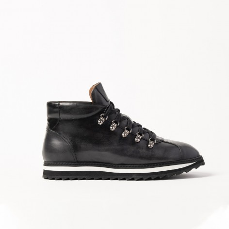 BLACK BOOTS CALCE 54401