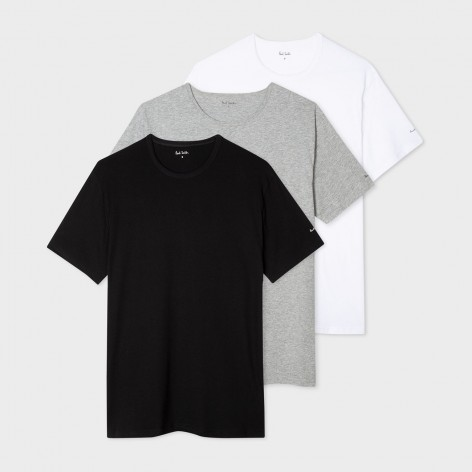 3-PACK OF PAUL SMITH T-SHIRTS M1A-389F-A3PCK-2A