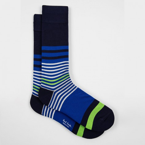 MEN SOCKS PICKLE STRIPE PAUL SMITH M1A-800E-EF402-47-0