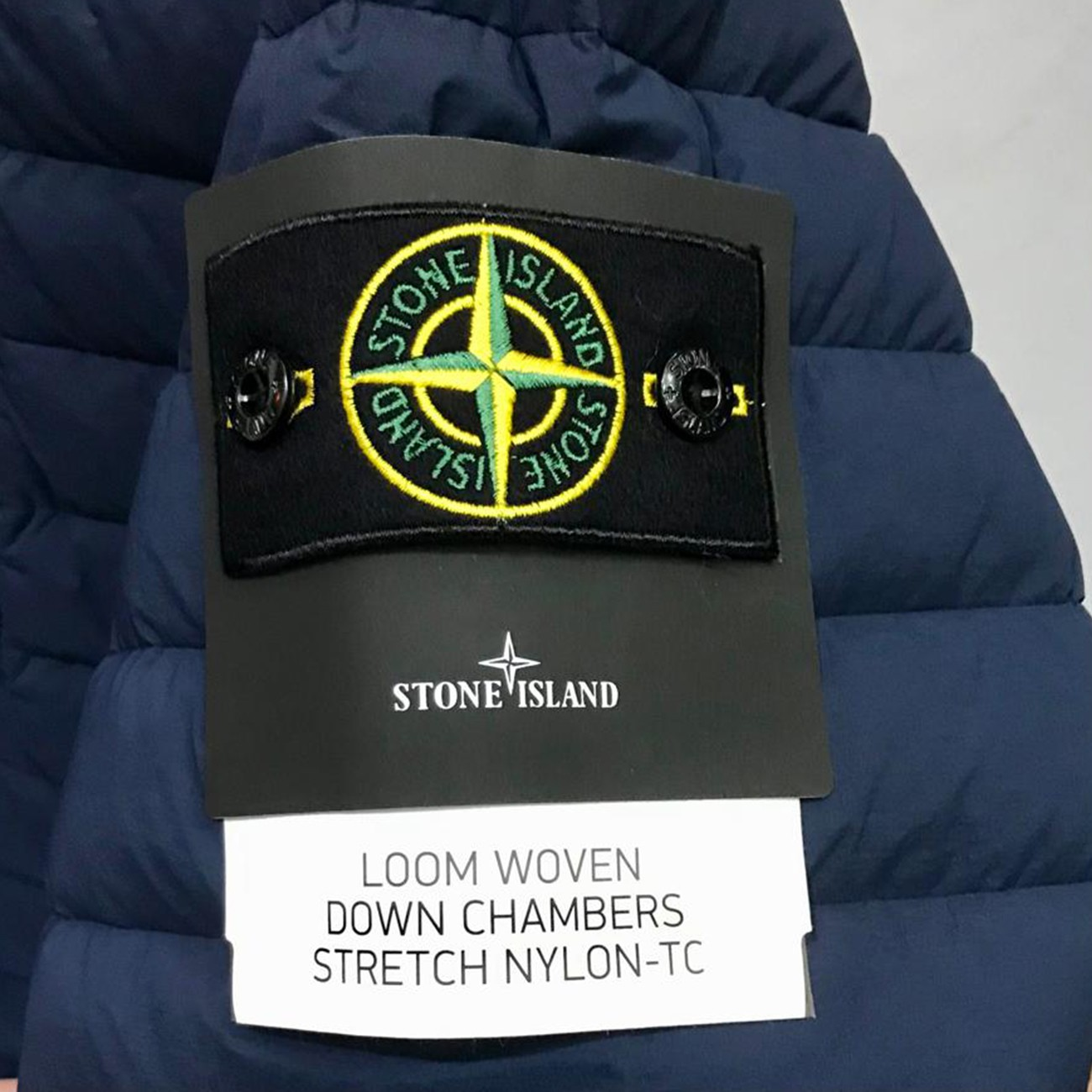 BLUE PARKA FILLED WITH DOWN STONE ISLAND 541225 V0028