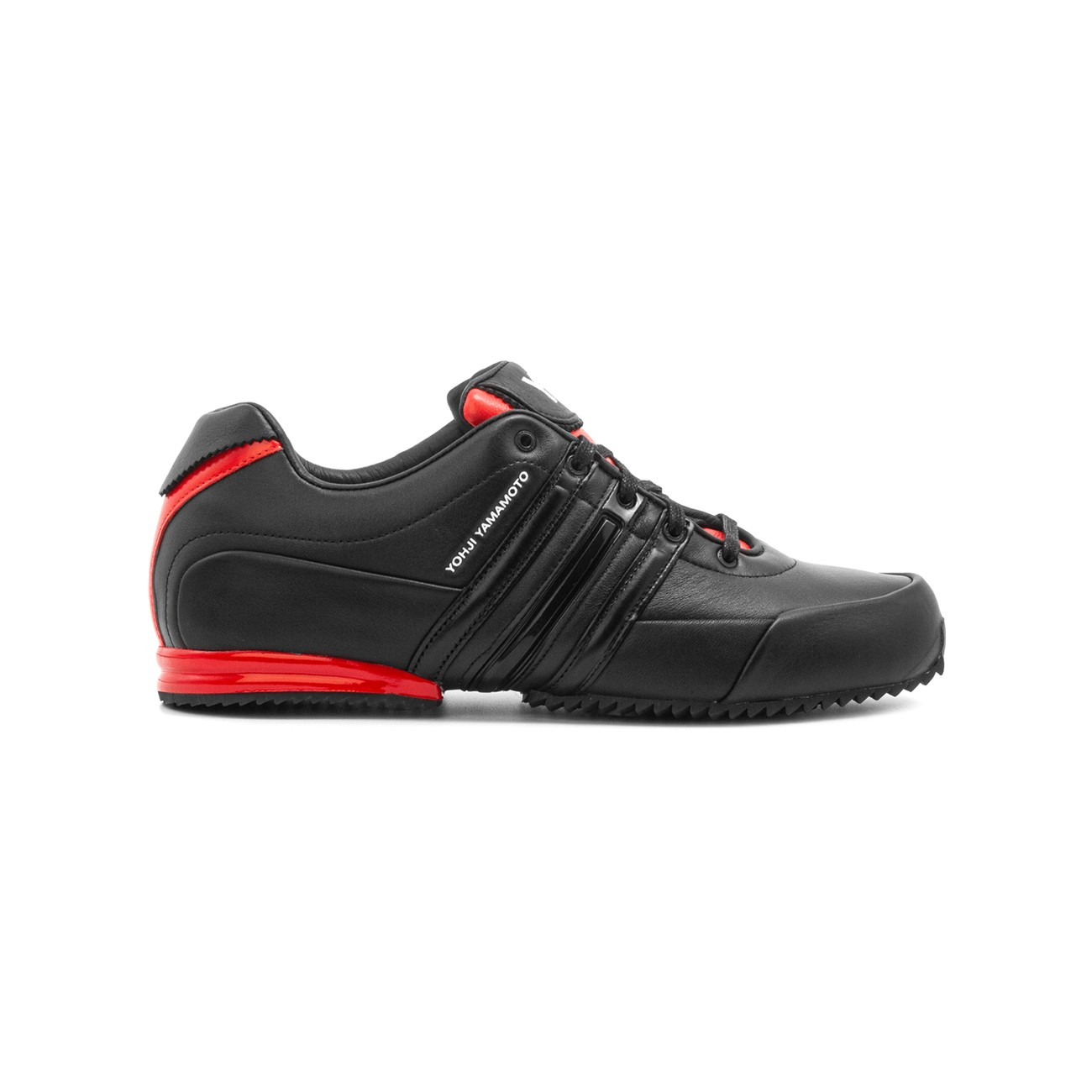 BLACK SPRINT SNEAKERS RED DETAILS Y-3 FY5930