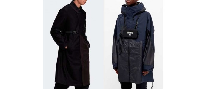 Bundle up in style with garments from Y-3 and Stone Island